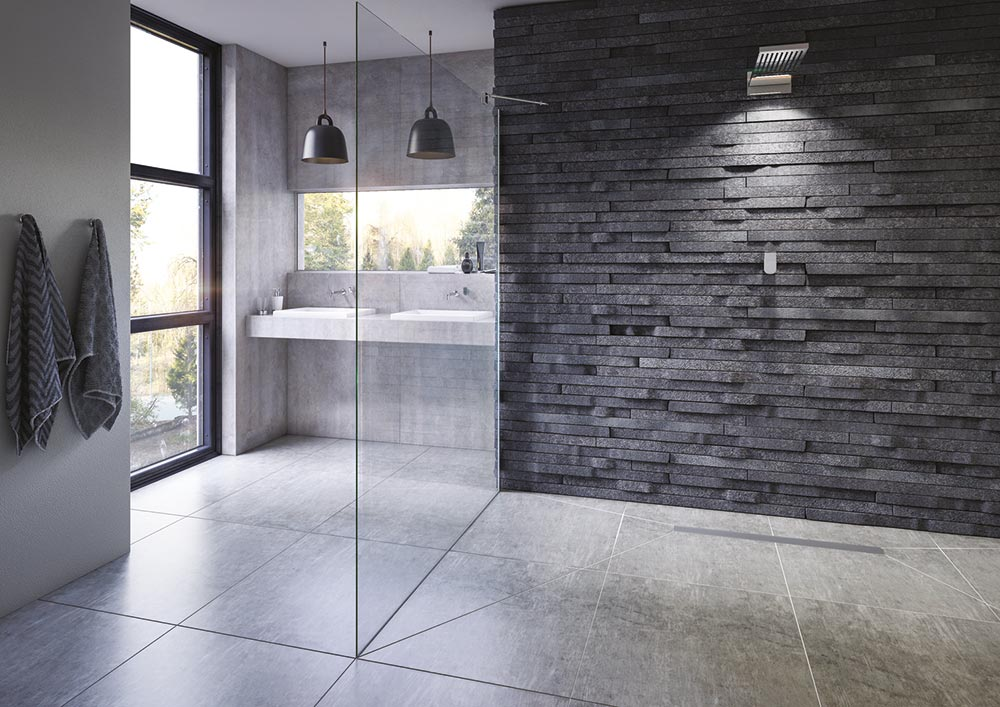 Walk In Shower Contemporary Spa Wetroom