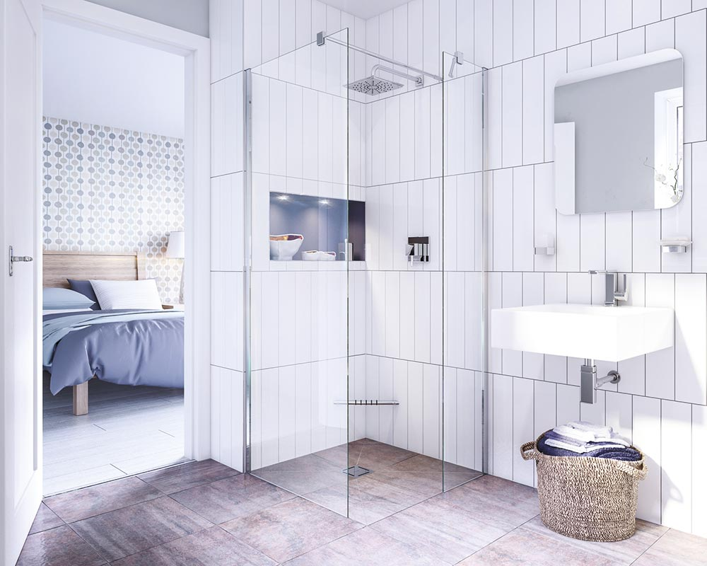 Modern, Contemporary Wet Rooms - Walk in Shower Company UK