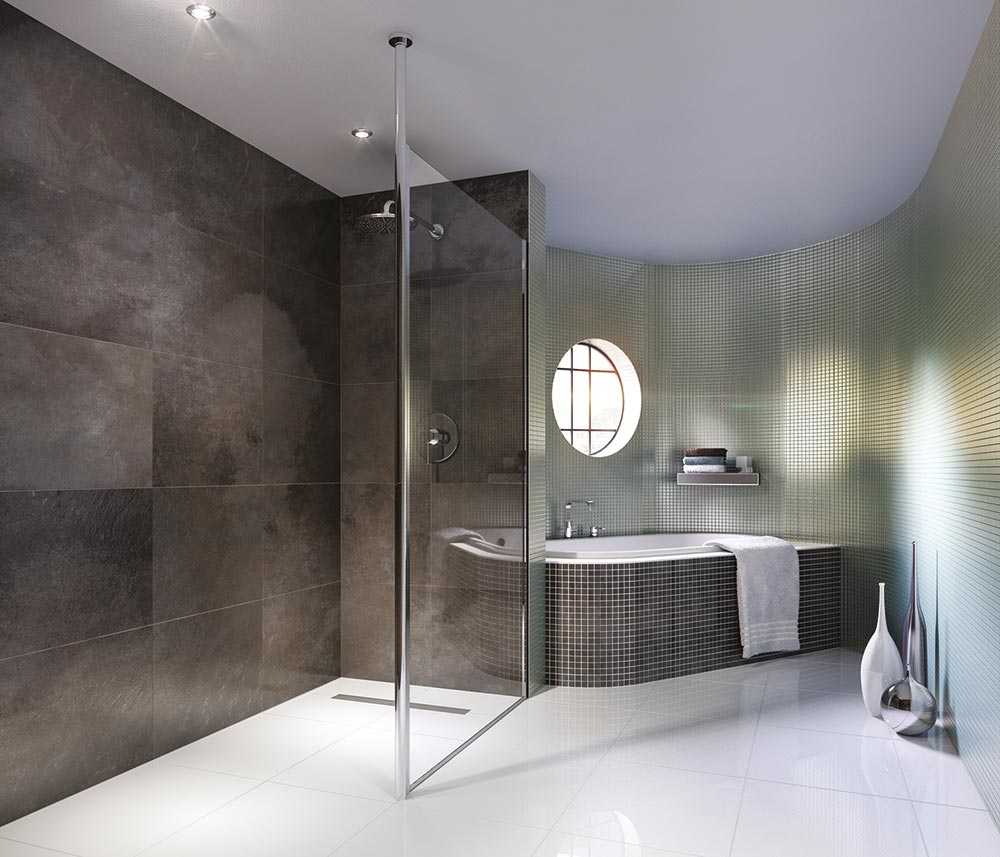WetroomsModern  Contemporary Wet Rooms   Walk in Shower Company UK. Modern Walk In Bathrooms. Home Design Ideas